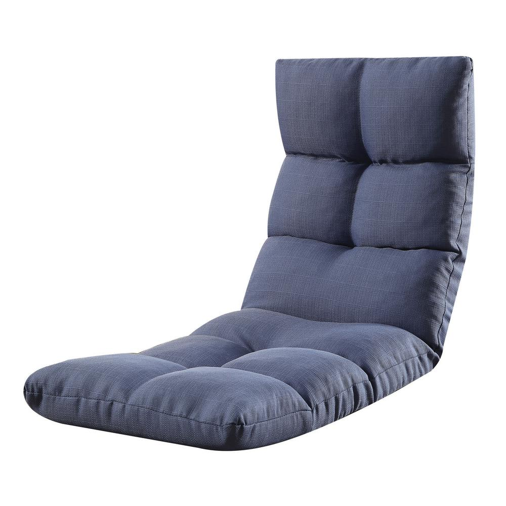 ACME Furniture Blue Morris Gaming Floor Chair59606  The