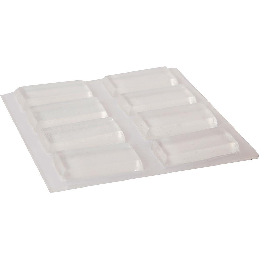 rectangular rubber chair glides best floor furniture pad accessories 1 2