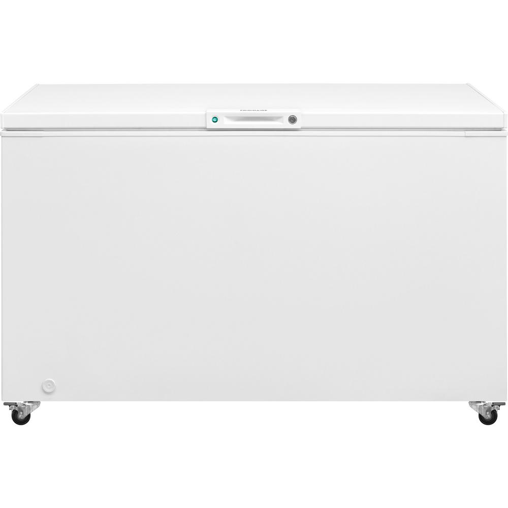 hight resolution of chest freezer in white