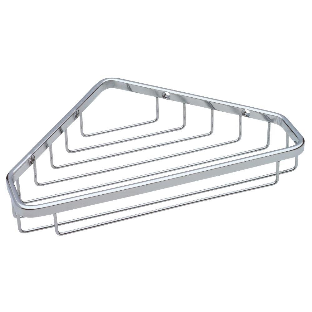 Franklin Brass Large Wire Corner Shower Caddy in Bright