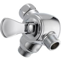 Delta 3-Way Shower Arm Diverter with Hand Shower in Chrome ...