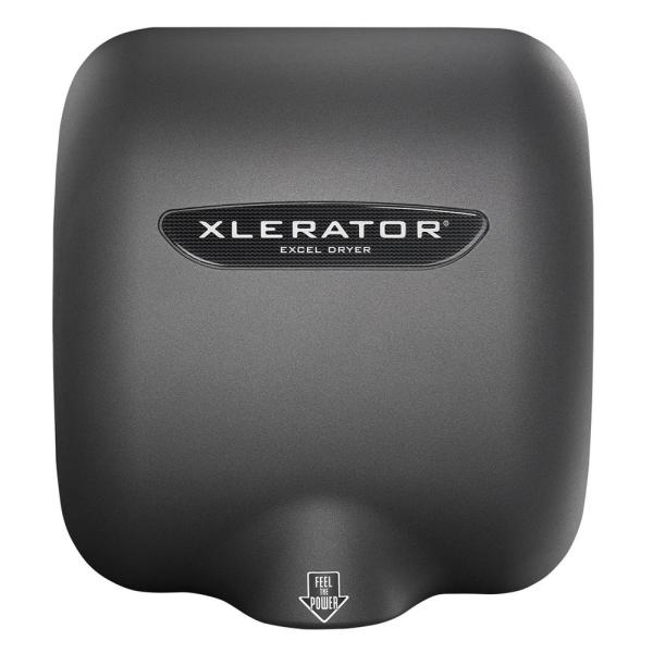 Xlerator Electric Hand Dryer High-speed Graphite Textured Painted Cover 110-120-volt 1.1