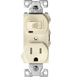 15 amp tamper resistant combination single pole toggle switch and 2 pole [ 1000 x 1000 Pixel ]