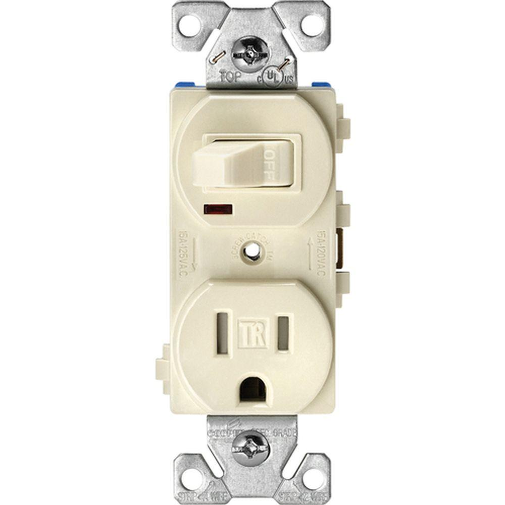 medium resolution of 15 amp tamper resistant combination single pole toggle switch and 2 pole