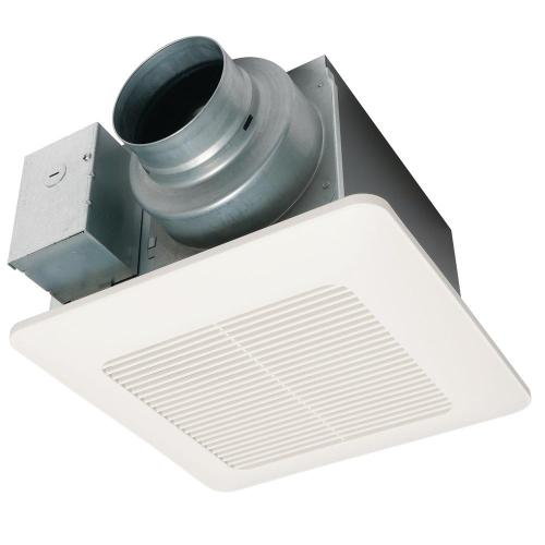 small resolution of panasonic whisperceiling dc fan with pick a flow speed selector 50 80