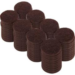 Chair Felt Pads Taupe Dining Room Covers Everbilt 1 In Heavy Duty Brown Self Adhesive 96 Per Pack