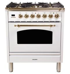 30 in 3 0 cu ft single oven dual fuel italian range [ 1000 x 1000 Pixel ]