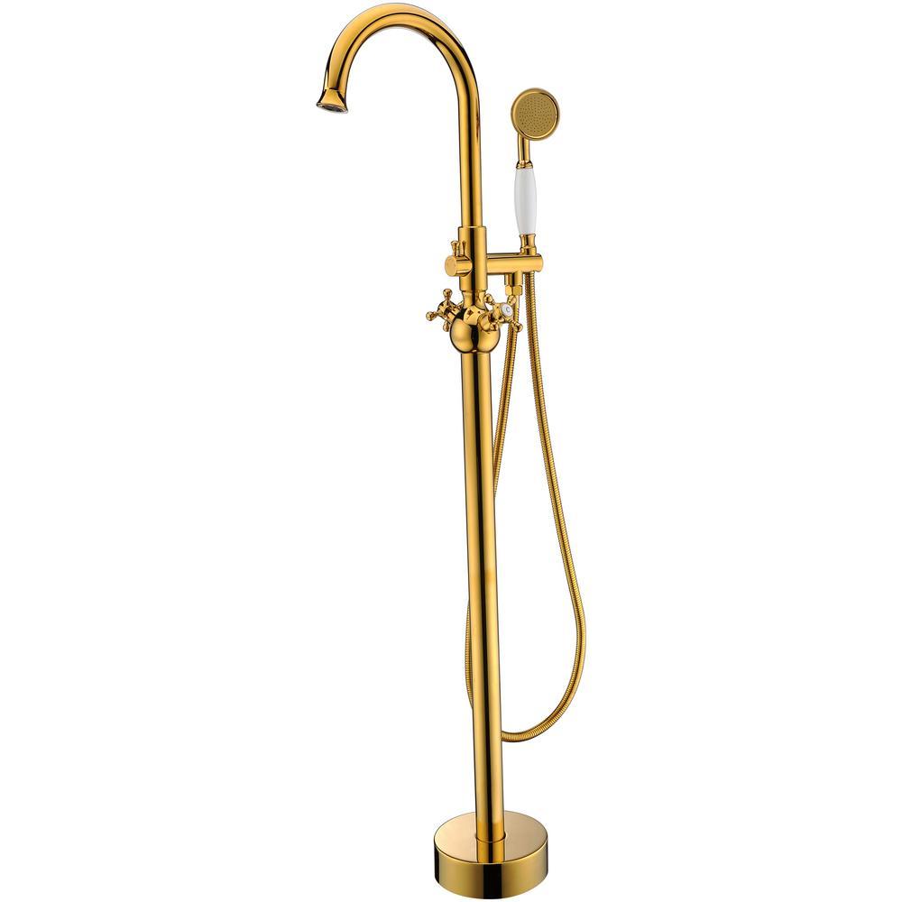 filler with hand shower fna914 gold