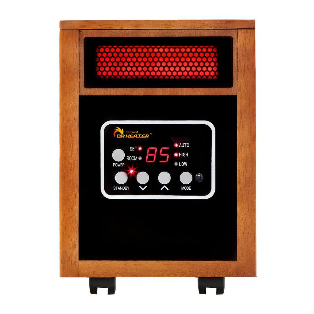 hight resolution of original 1500 watt infrared portable space heater with dual heating system
