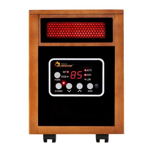 small resolution of original 1500 watt infrared portable space heater with dual heating system
