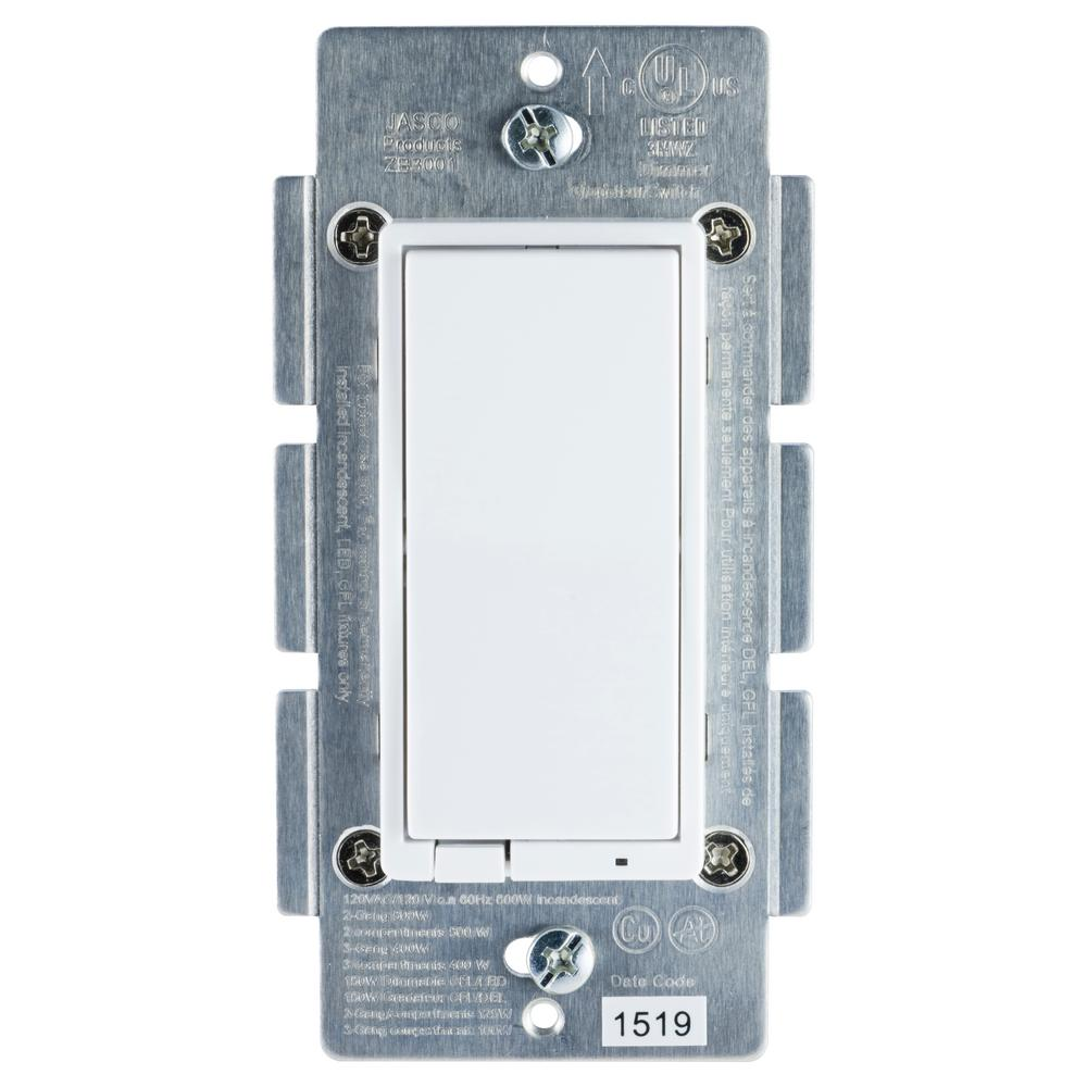 medium resolution of zigbee in wall energy monitoring rocker smart dimmer paddle style switch