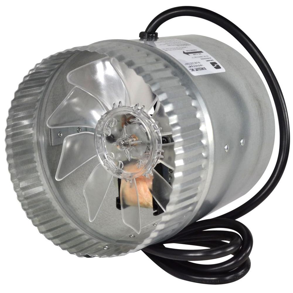 hight resolution of corded in line duct fan