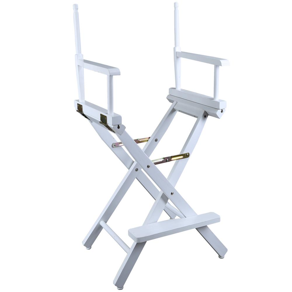 directors chair white covers gumtree glasgow casual home 30 in director s solid wood frame 230 01
