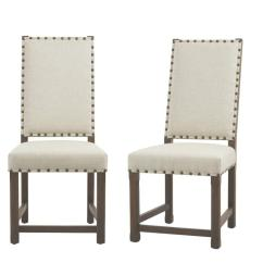 Grey Dining Chairs Yellow Hanging Chair Washington 30303 75dd The Home Depot Andrew Antique Set Of 2
