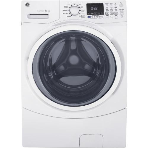 small resolution of ge 4 5 cu ft high efficiency white front load washing machine with steam
