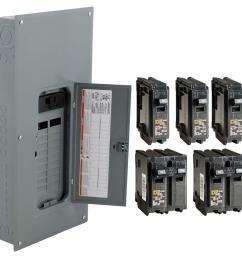 square d 200 amp 20 space 40 circuit indoor main breaker panel box load center 785901977063 ebay [ 1000 x 1000 Pixel ]