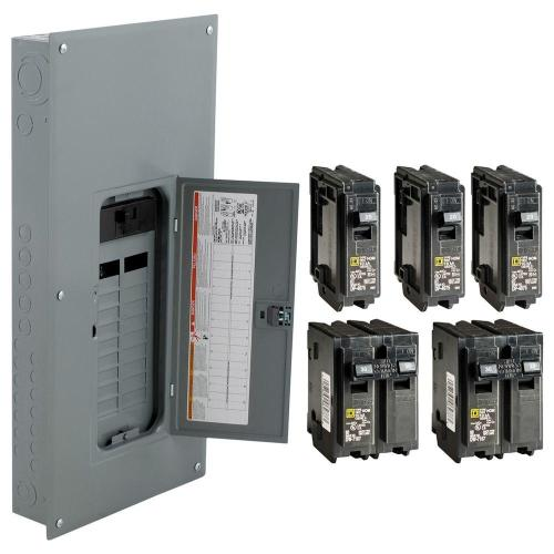 small resolution of square d 200 amp 20 space 40 circuit indoor main breaker panel box load center 785901977063 ebay