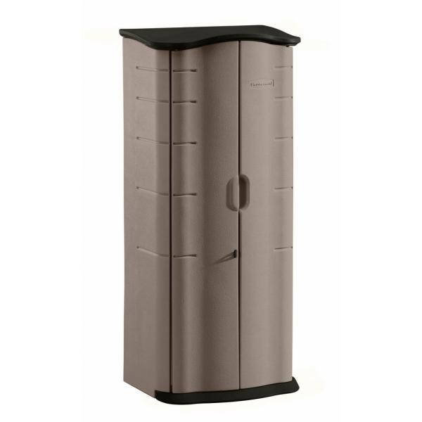 Rubbermaid 2 Ft. X Vertical Storage Shed-2035894 - Home Depot
