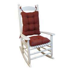 2 Pc Rocking Chair Cushions Power Wheel Chairs Gripper Saturn Red Jumbo Cushion Set 84929xl 38 The Internet 301188432