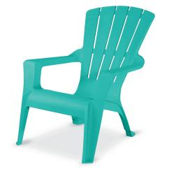 Stackable Resin Adirondack Chairs Ergonomic Visitor Chair Seaglass 241594 The Home Depot Store Sku 1003866836