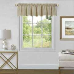 Kitchen Valance Chris And Cart Window Scarves Valances Treatments The Home Depot Wallace