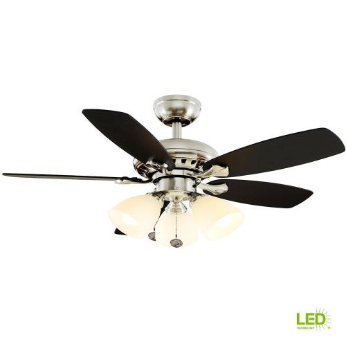 small resolution of hampton bay luxenberg 36 in led brushed nickel ceiling fan