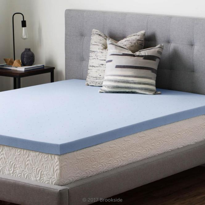 King Gel Infused Memory Foam Mattress Topper