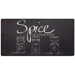 Best Kitchen Mats Custom Island For Sale Rated 0 5 In Dark The Home Depot Cook N Comfort Black Spice Up 20 X 39 Mat