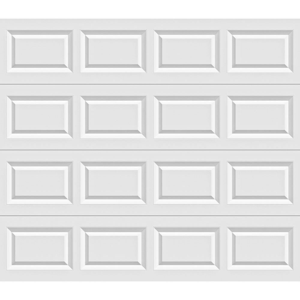 Clopay Classic Collection 8 ft x 7 ft NonInsulated White Garage DoorHDB  The Home Depot