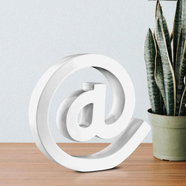 Crystal Art Sign White Letter Block-76514web - Home Depot