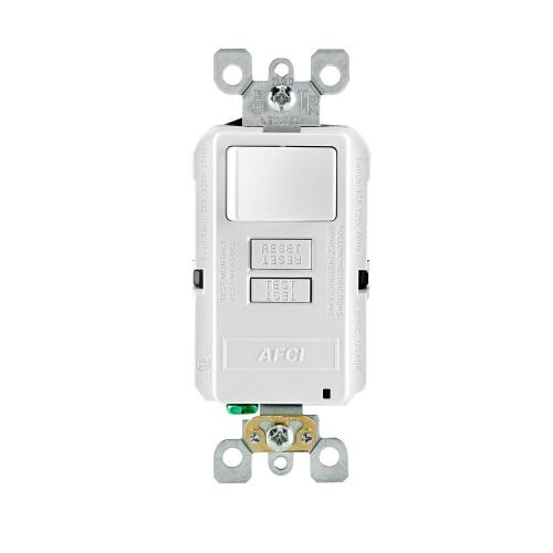 small resolution of leviton smartlockpro 15 amp 125 volt outlet branch circuit combination afci switch white