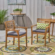 Noble House Judson Teak Stationary Wood Outdoor Dining