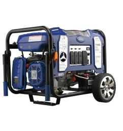 11 050 9 000 watt dual fuel gasoline propane powered electric recoil start portable generator with 457 cc ducar engine [ 1000 x 1000 Pixel ]