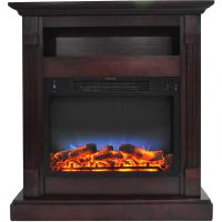 Hanover Drexel 34 in. Electric Fireplace with Enhanced Log ...