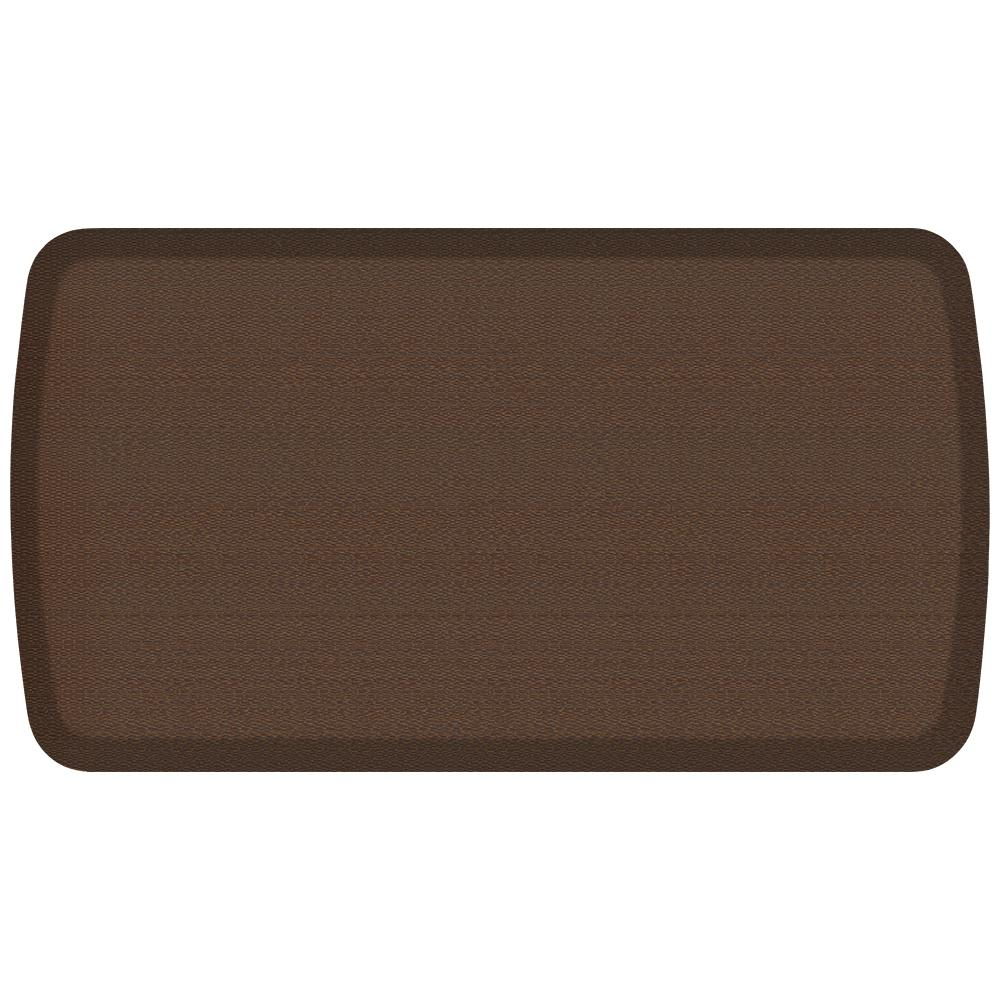 kitchen mats gel legacy cabinets gelpro elite rattan redwood 20 in x 36 comfort mat 109