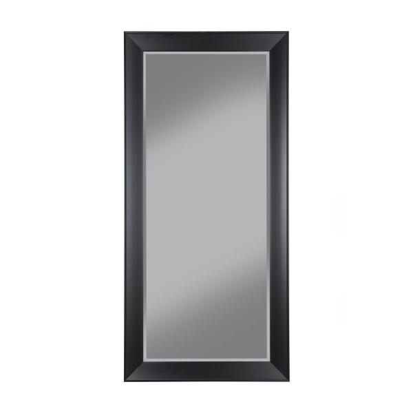 Sandberg Furniture Contemporary Black Full Length Leaner ...