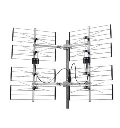 digiwave 8 bay multidirectional ultra clear digital outdoor tv antenna [ 1000 x 1000 Pixel ]