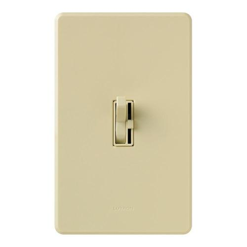small resolution of lutron toggler 1000 watt single pole dimmer ivory
