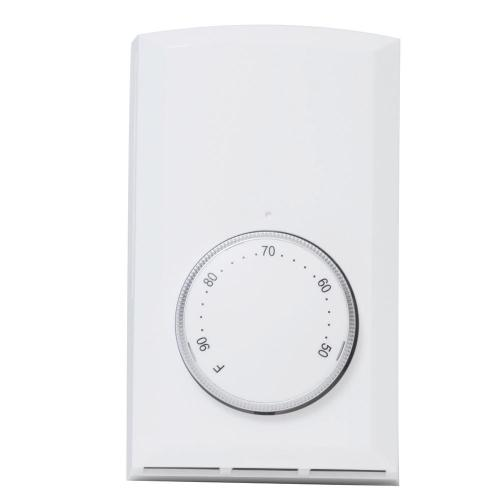 small resolution of single pole 22 amp 120 volt 240 volt wall mount mechanical non programmable thermostat in white