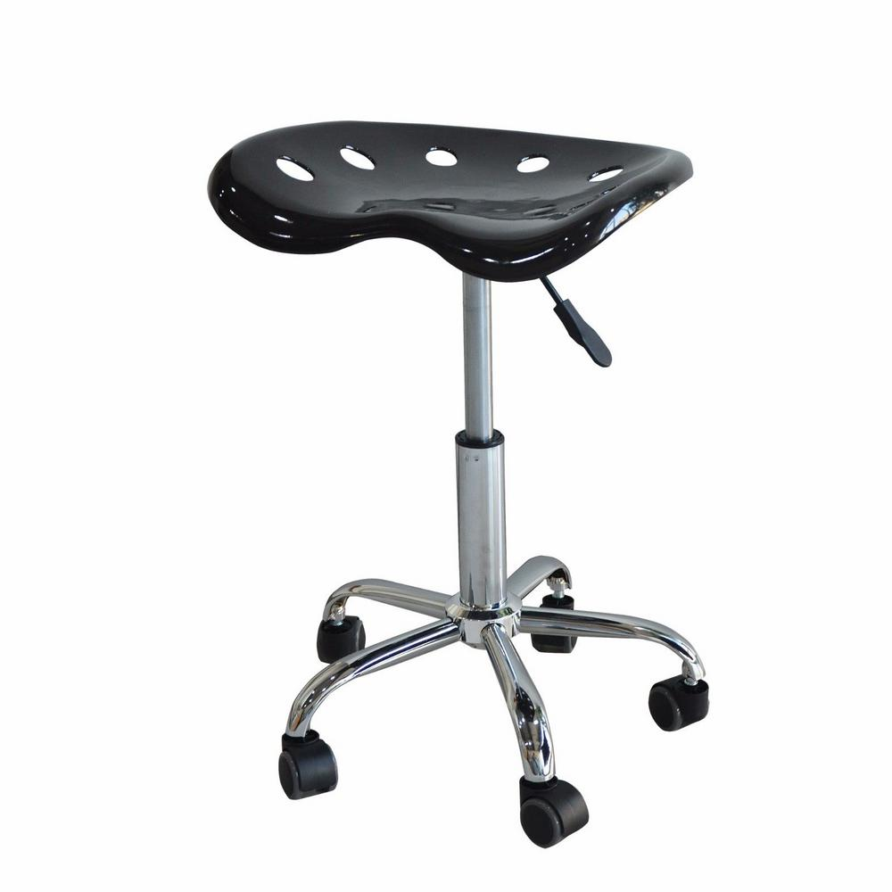 stool chair adjustable lounge foldable speedway abs tractor seat height swivel shop 76063