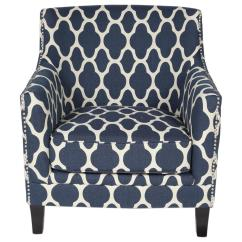 Blue Pattern Accent Chair Bedroom Perth Wa Cassie Moroccan 01 115c 03 143a The Home Depot