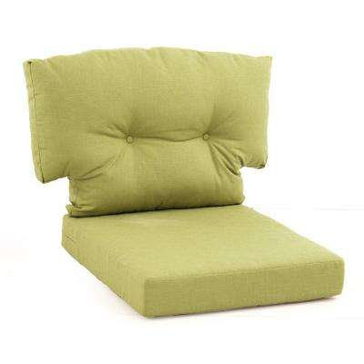 replacement cushions for living room sofa 2 pictures furniture arrangements martha stewart patio outdoors the home depot charlottetown green bean piece outdoor lounge chair cushion