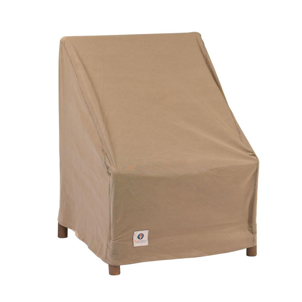 home depot outdoor patio chair covers black eames replica duck essential 40 in w cover ech404036 the