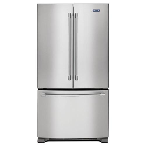small resolution of maytag 25 cu ft french door refrigerator in fingerprint resistant maker models schematic maytag side by side factory installed ice maker