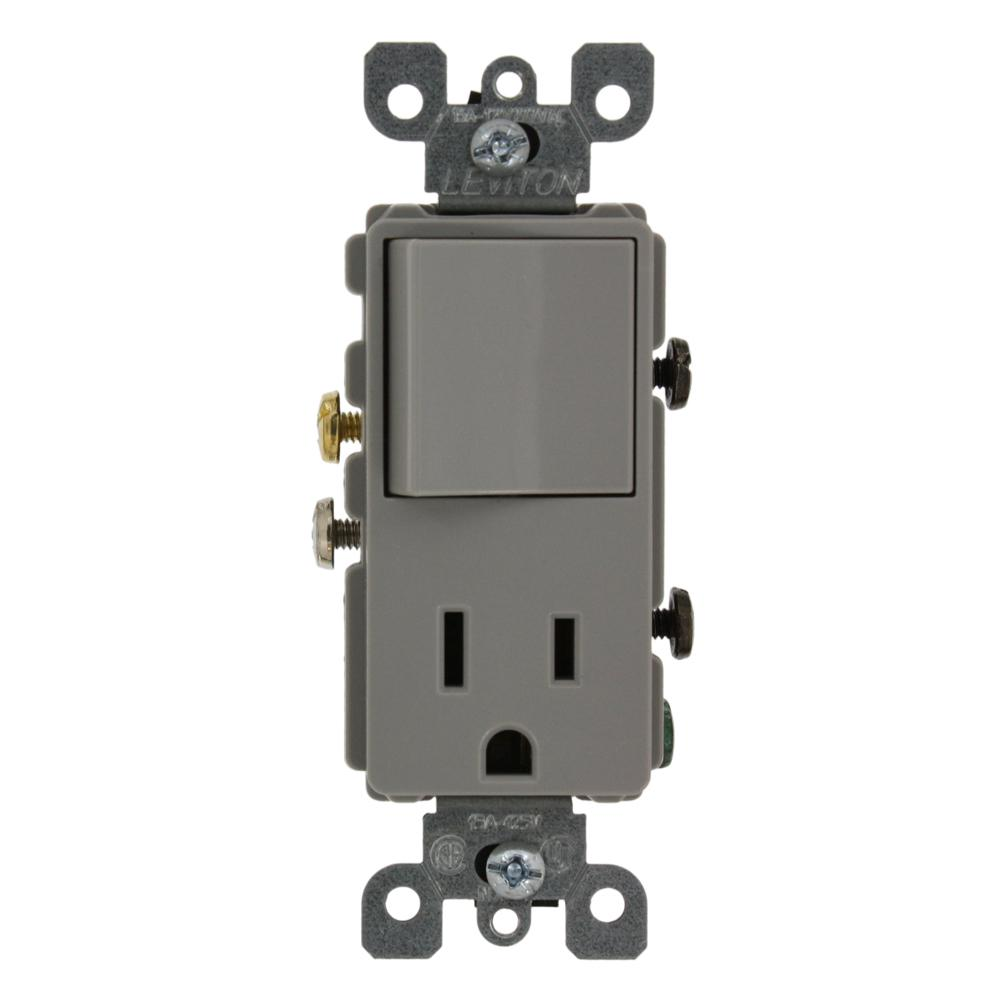 Wiring In The Home Combination Switch Outlet Levitron Switch