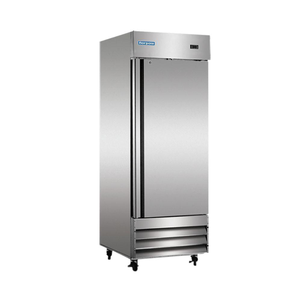 Norpole 23 cu ft Commercial Refrigerator in Stainless