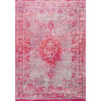 nuLOOM Tanja Overdyed Medallion Pink 8 ft. x 10 ft. Area