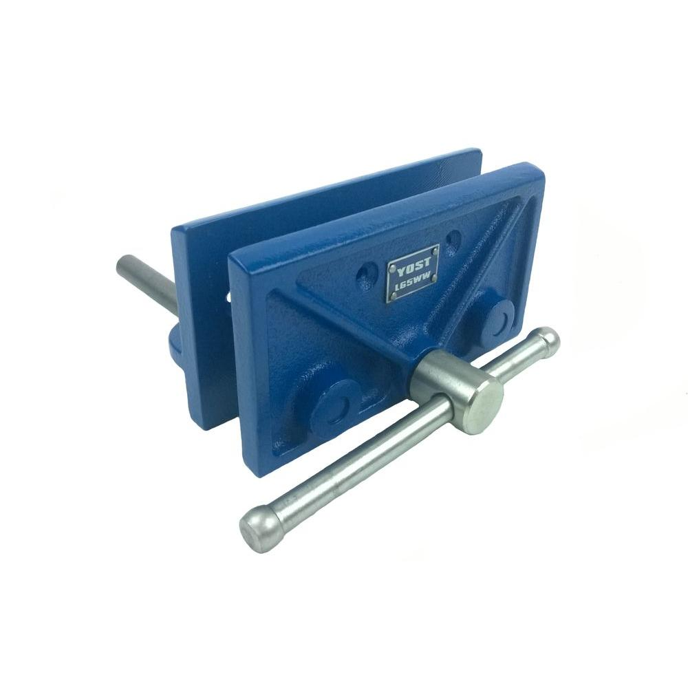 Yost 6 5 In Hobby Woodworking Vise L65ww The Home Depot