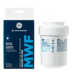 genuine mwf water filter for ge refrigerators [ 1000 x 1000 Pixel ]