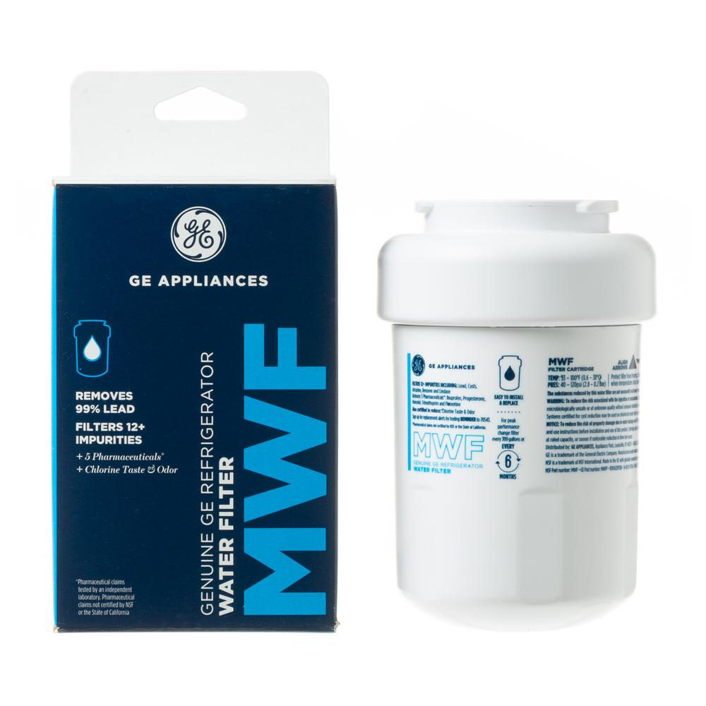 hight resolution of genuine mwf water filter for ge refrigerators